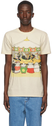 Lanvin Beige Babar Edition Cotton T-Shirt