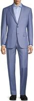 Canali Standard-Fit Hairline Stripe Wool Suit
