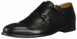 Marc Joseph New York Men's Leather Double Monk Wingtip Dress Shoe Oxford