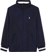 Ralph Lauren Striped Trim Windbreaker Jacket 6-14 Years