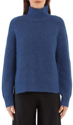 By Malene Birger Ribbed-Knit Turtleneck Sweater