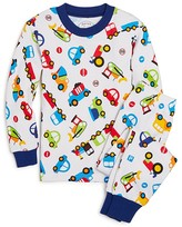 Sara's Prints Boys' Trains, Trucks & Cars Pajama Set - Size 2-7