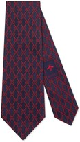 Gucci GG chains silk tie
