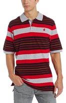 Rocawear Men's Short Sleeve La Stripe Polo