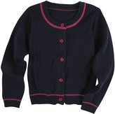 Andy & Evan Cardigan (Toddler/Kid) - Navy-5