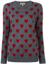 Burberry heart jumper