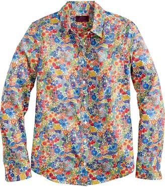J.Crew Perfect Liberty(R) Margaret Annie Floral Print Shirt