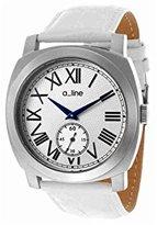 A Line a_line Women's AL-80023-02-WH Pyar Analog Display Japanese Quartz White Watch