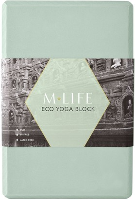 Equipment M Life Eco Yoga Block, Green