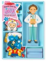 Melissa & Doug Infant Girl's 27-Piece Magnetic Dress-Up Julia Doll