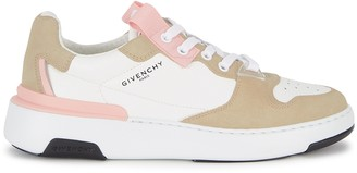 Givenchy Wing white leather sneakers