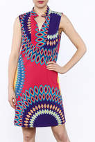 Aryeh Sleeveless Shift Dress