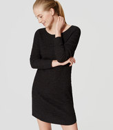 LOFT Textured Sweater Dress
