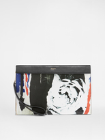 DKNY Ripped Rose Pouch