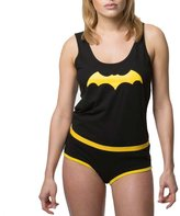 Underoos Womens Juniors Batgirl Tank Underwear Set, XL, Multi