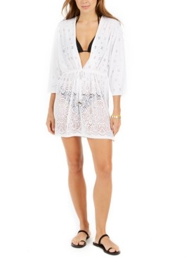 Dotti Gypsy Gem Crochet Tunic Cover-Up Women's Swimsuit