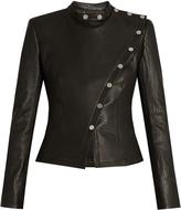 Diane von Furstenberg Warrior leather jacket