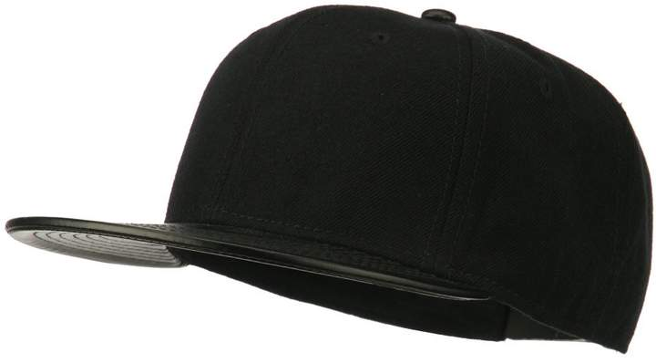 662d0be83 Leather Snapback Caps Men - ShopStyle Canada