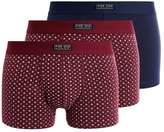 Pier 1 Imports FOULADE 3 PACK Shorts burgundy