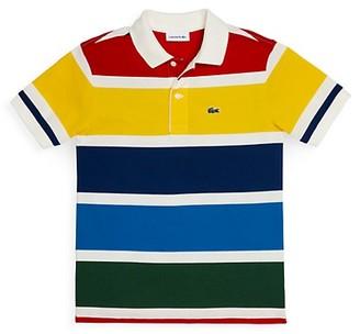 Lacoste Little Boy's & Boy's Colorblock Polo Shirt