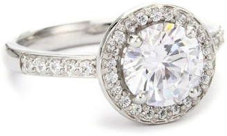 Myia Passiello Essentials R2387803_120_052 Sterling Silver 926 Cubic Zirconia Ring Size M