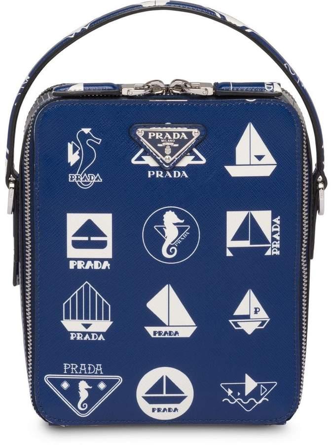 6f1d1eef2585 Prada Messenger Bags For Men - ShopStyle UK