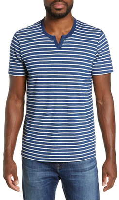 Splendid Mills Supply by Malibu Notch Neck T-Shirt