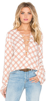 Faithfull The Brand Natalia Coco Print Top