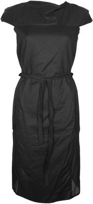 Format INGA Black Plain Dress - S - Black