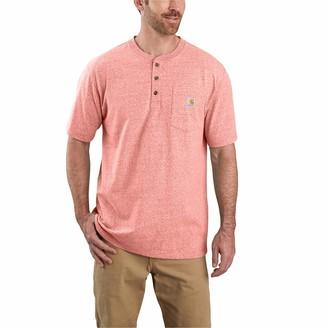 Carhartt Men's Size Workwear Pocket Henley Shirt