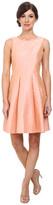 Donna Morgan Gillian Open Back Shantung Short Dress
