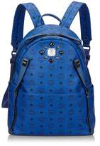 MCM Pre-owned: Visetos Studded Leather Backpack.
