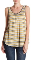 Susina Scoop Neck Tie Back Tank