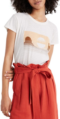 Madewell Desert Landscape Perfect Graphic Tee