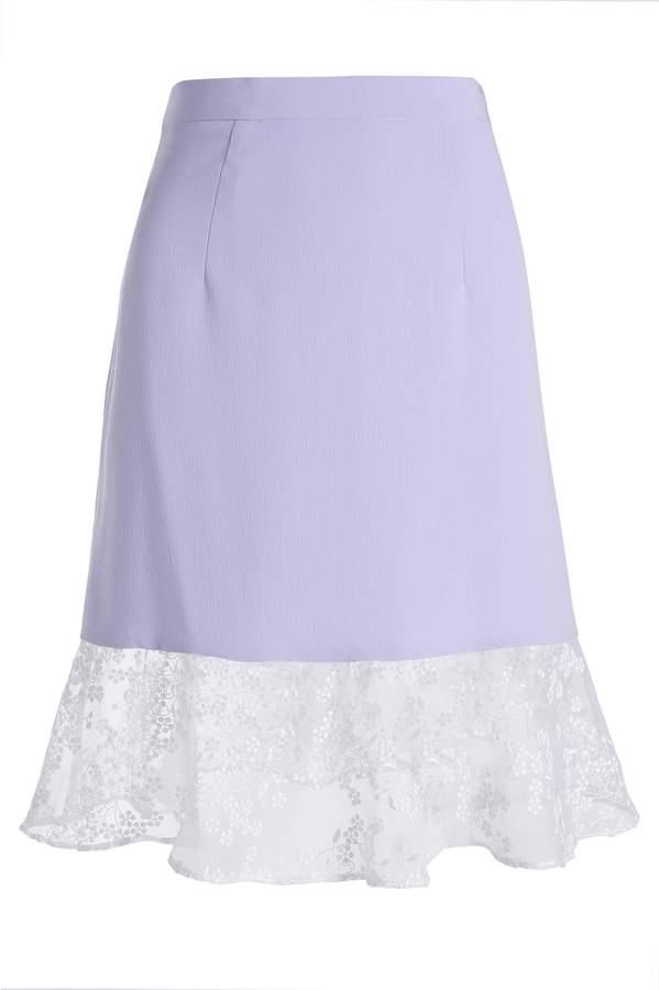 Carven Bottom Ruffle Mini Skirt