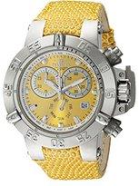 Invicta Women's 18291 Subaqua Analog Display Swiss Quartz Yellow Watch