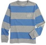 Vineyard Vines Rugby Stripe T-Shirt (Toddler Boys & Little Boys)