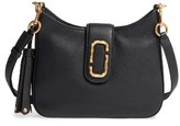 Marc Jacobs Small Interlock Leather Hobo - Black