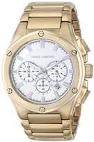 Vince Camuto Men's VC/1065SVGP The Dyver Chronograph Gold-Tone Bracelet Watch