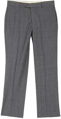 "Brooks Brothers Tonal Print Wool Blend Trousers - 30-34"" Inseam"