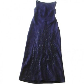 Philosophy di Alberta Ferretti \N Purple Linen Dresses