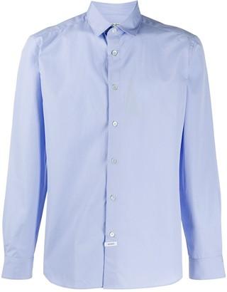 Kenzo Rear-Logo Point Collar Shirt