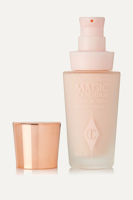 Charlotte Tilbury Magic Foundation Flawless Long-lasting Coverage Spf15 - Shade 0, 30ml