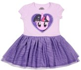 My Little Pony Girls' Twilight Sparkle Tulle Costume Dress