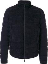 Giorgio Armani padded jacket - men - Feather Down/Goat Skin/Polyester - 46