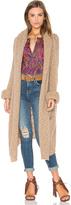 360 Sweater x Rocky Barnes Stella Hooded Cardigan