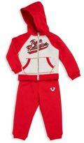 True Religion Baby's Two-Piece Hoodie & Pants Set