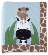 Lambs & Ivy Peek-a-Boo Jungle Blanket