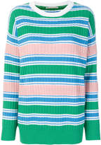 Marco De Vincenzo striped ribbed jumper