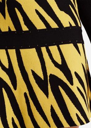 Phase Eight Lia Zebra Knit Skirt